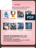 Keshab Machineries Brochure India -Crushing and Processing Machines