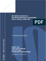 3D Failure Analysis of UD Fibre Reinforced Composites