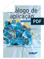 SKF - Catalogo de Aplicacoes Automotivas - 2005
