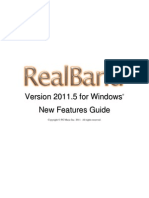 RealBand 2011_5 New Features Guide