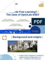 Towards Free Learning? The Case of OpenLab ESEV