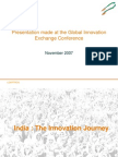 Innovation Consultants India - Global Innovation Exchange Conference