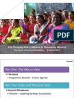 The Changing Role of Women in Developing Markets March 2011