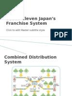 Seven-Eleven Japan's Franchise System