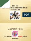 PRESENTACIO CONDICIÓ FÍSICA 3er. ESO