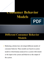 Consumer Behavior Models
