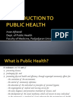 Introduction to Health & Public Health