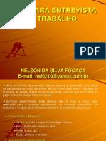 Dicas de entrevista de seleção - Nelson da Silva Fogaça