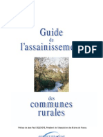 Guide De l Assainissement Communes Rurales