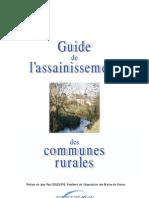 Guide De l Assainissement Communes Rurales
