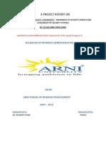 A Summer Internship Project Report Tt
