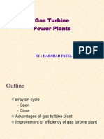 Hkp Gas Turbine Power Plants