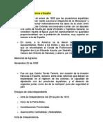 Historia Constitucional colombiana