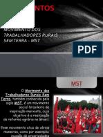 Movimentos Sociais - MST