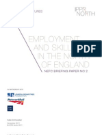 Employment and skills in the North of England