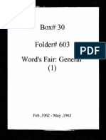 World's Fair General Documentation 1