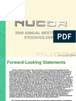 Nucor 2009 Annual Meeting Presentation