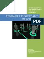 Teoria de Las Sociedades Mercantiles