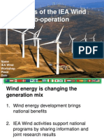 Generic Benefits of IEA Wind 11.2011