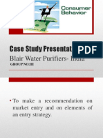Case Study Presentation-Consumer Behaviour