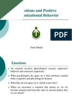 Emotions and Positive Organizational Behavior
