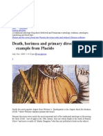 Astro Death Horimea and Primary Directions