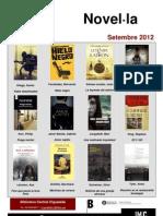 Novel·la  setembre 2012
