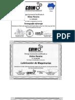 Certificado Curriculum Victor R Pereira L Ing Mecanico Unexpo