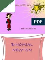 Binomial Newton