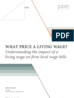 What price a living wage? Understanding the impact of a living wage on firm-level wage bills