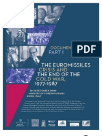 The Euromissiles Crisis and the End of the Cold War, 1977-1987