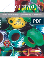 Boletín Identidad Normalista No. 19 y 20