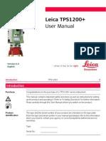 TPS1200 User Manual