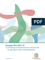 Platform Strategic Plan 2012-15
