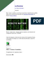 Efecto Matrix Con Photoshop
