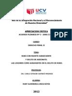 Lorza- Acuerdo Plenario