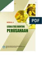 Buku 5 Modul 4 Legalitas Bentuk Perusahaan