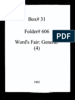 World's Fair General Documentation 4