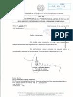 Material apresentado pela AngloAmerican, referente ao projeto Minas-Rio
