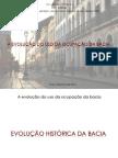 Evolução da ocupação na Bacia do Rio Anil