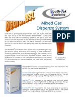 BeerBlast™ Mixed Gas Dispense System - South-Tek Systems