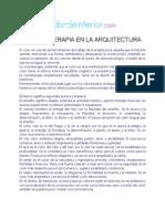 La Cromaterapia en La Arquitectura