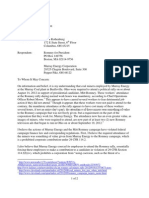 Progress for Ohio's complaint to FEC over Murray Energy Corporation and Romney for President