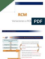 09 Variaciones a RCM (PMO)