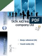 TATA AIG Insuance Company