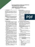 Instructivo de Garantía Enlaces 2010