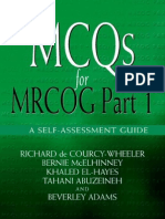 MCQs for MRCOG Part 1 a Self-Assessment Guide PDF Book