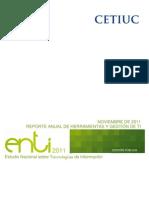 Enti 2011 Reporte Herramientas y Gestion de Ti Edpublica