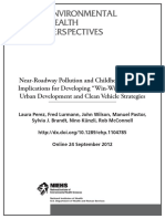 Near-Roadway Pollution and Childhood Asthma