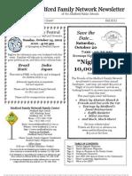 Medford Family Network Fall 2012 Newsletter